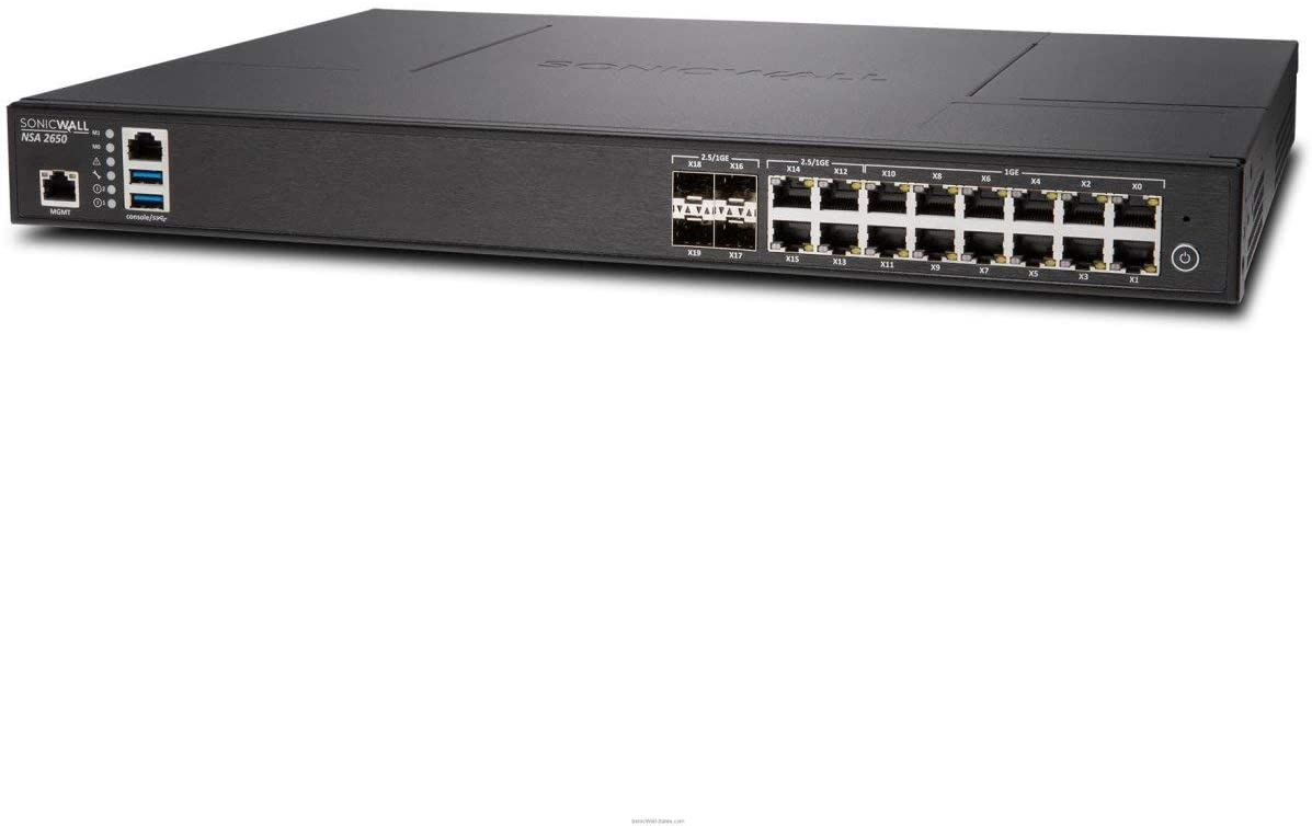 SonicWall NSA 2650 2YR Secure Upgrade Plus Adv Image