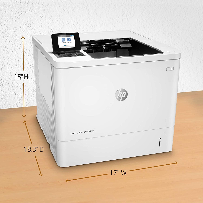 HP LaserJet Enterprise M607n(black and white) Image